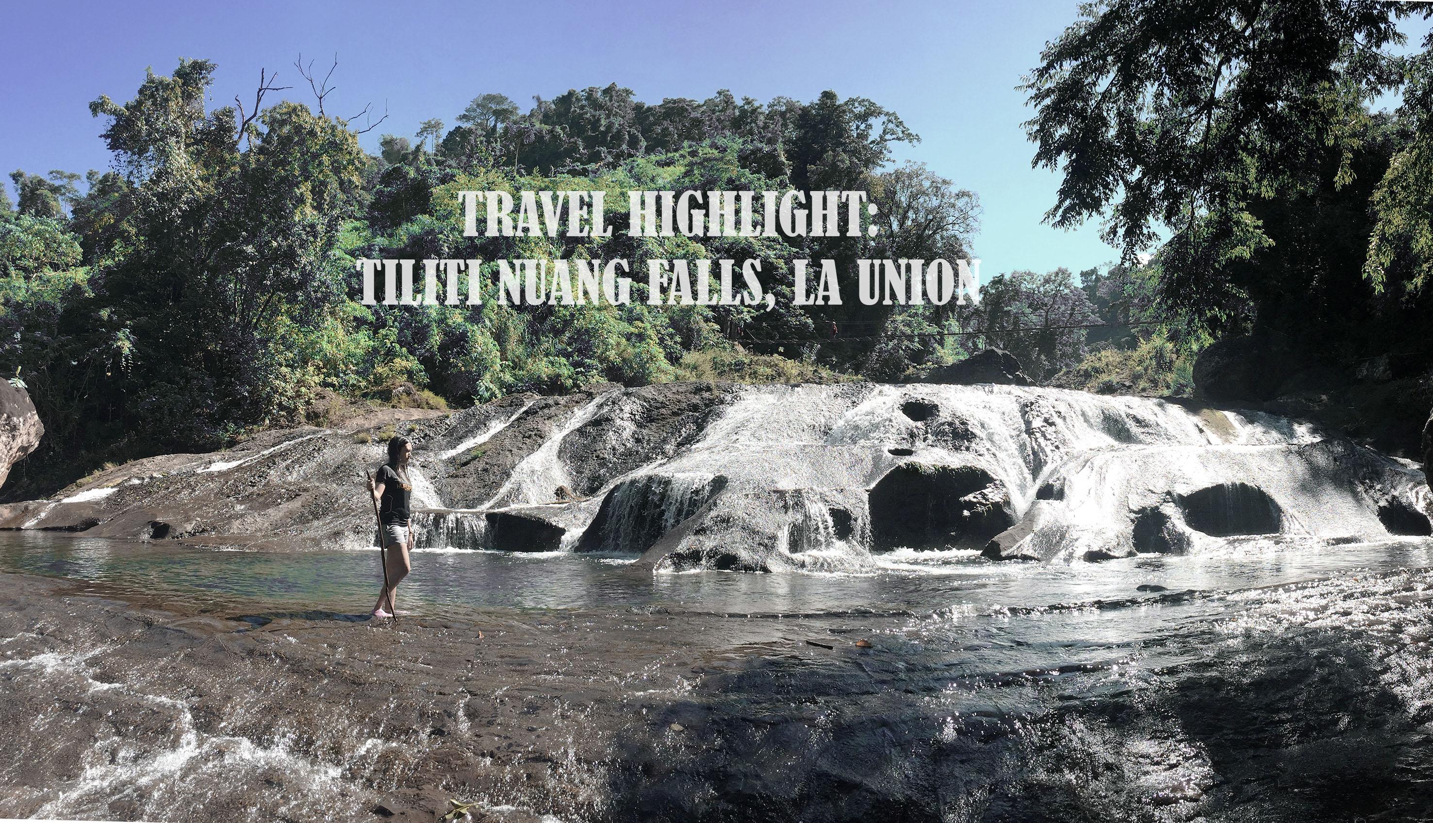 Tiliti Nuang Falls Banner